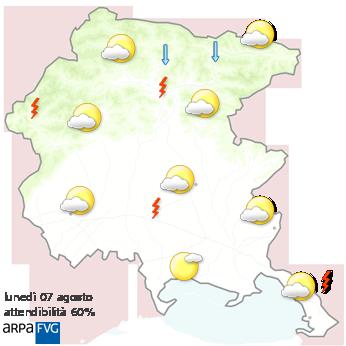meteo friuli venezia giulia dopo domani